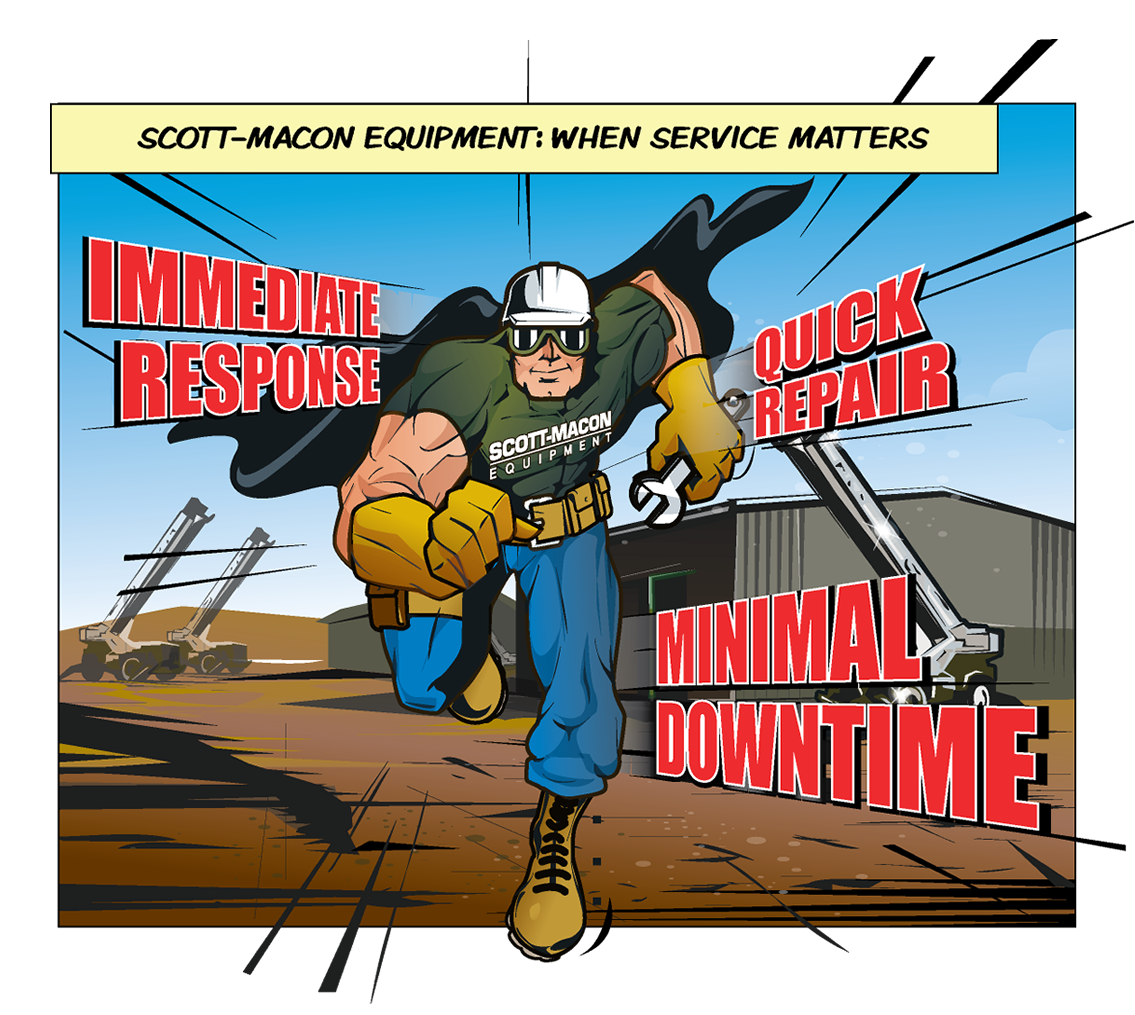 Scott-Macon Equipment Crane Repair Service 3